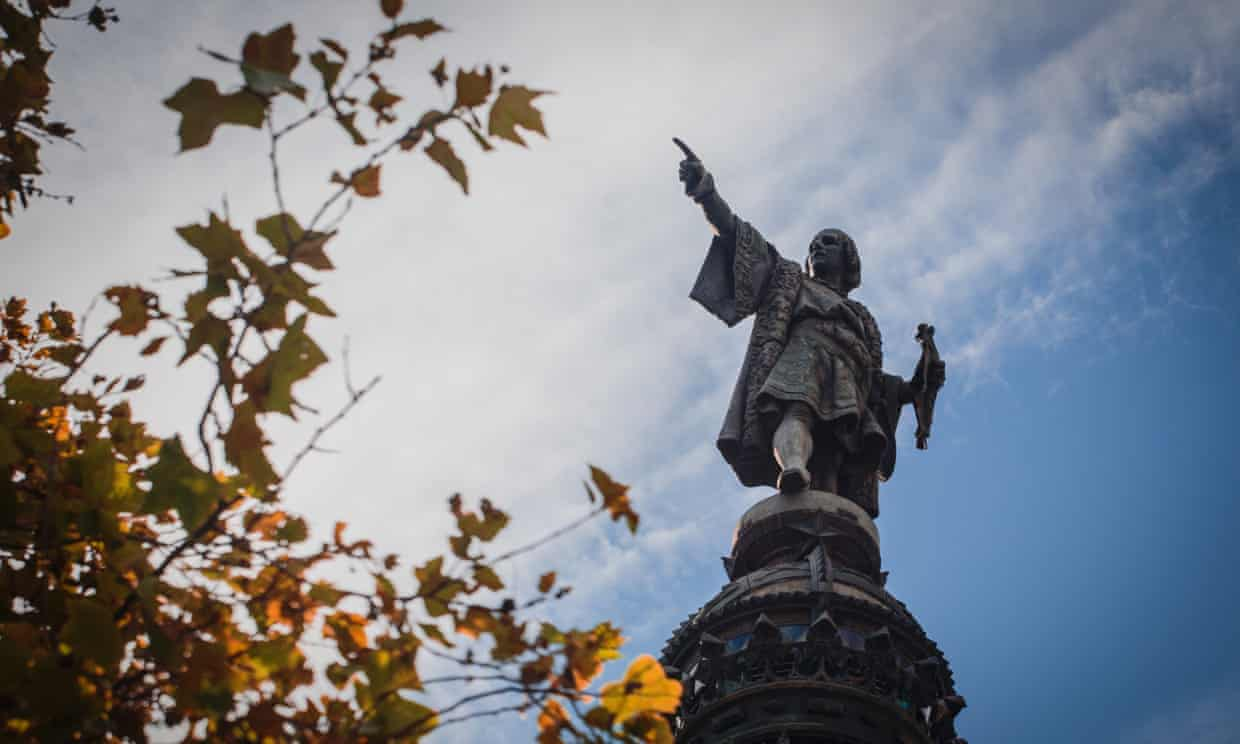 Barcelona Politicians Want Christopher Columbus Statue Removed