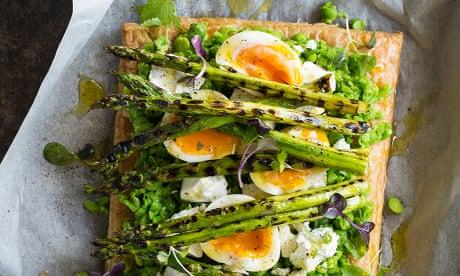 Kepos Street Kitchen's asparagus, pea and feta tart recipe
