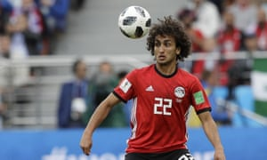 Egypt will continue their Africa Cup of Nations campaign with 22 players after Amr Warda was expelled from the squad.