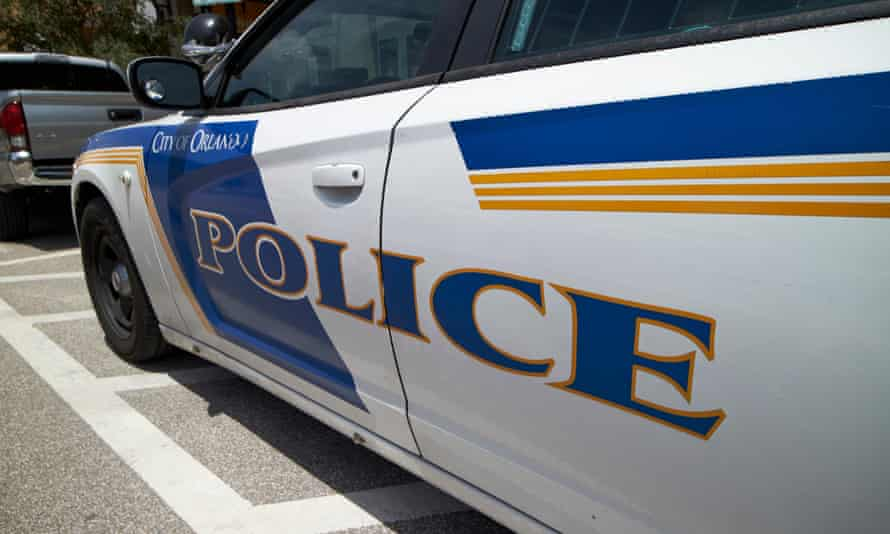 City of Orlando police squad patrol vehicle