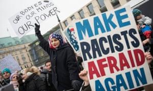 The Women's March in Berlin in January