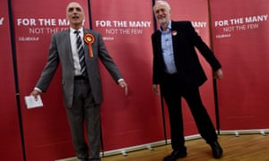 Chris Williamson and Jeremy Corbyn