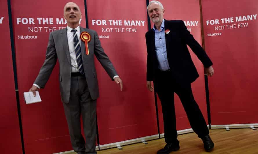 Chris Williamson and Jeremy Corbyn