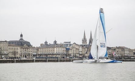 The Race for Water Odyssey is on a journey that will take its crew over 40,000 nautical miles as they attempt to draw up the first global assessment of plastic pollution in the oceans.