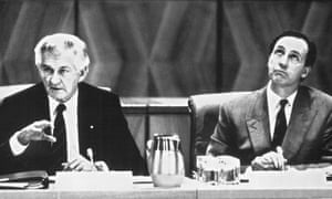 Bob Hawke and Paul Keating led Labor governments from 1983 to 1996