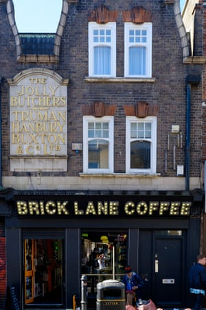 Brick Lane Coffee Opened 16 years ago, the coffeeshop's slogan is 'Come happy, leave edgy'