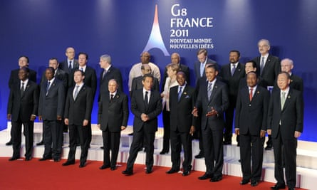 G8 summit in Deauville, France in May 2011