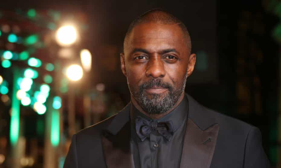 'Only 20% of the films that black people watch feature predominantly black casts' … Idris Elba at the Bafta awards.