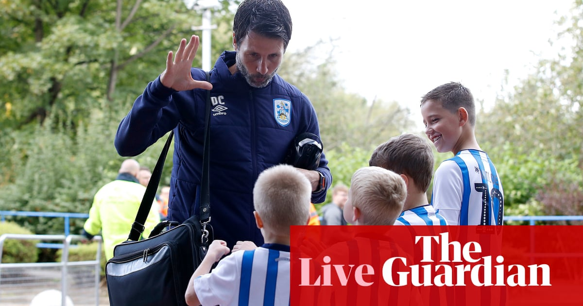 Huddersfield v Sheffield Wednesday: Championship – live!