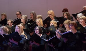 Royal Liverpool Philharmonic Choir in a concert performance of The Damnation of Faust at Philharmonic Hall, Liverpool.