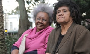 Aunty Emelda Davis (left) and Aunty Shireen Malamoo are the descendants of South Sea Islanders 'blackbirded' from the Pacific to work in Australia.