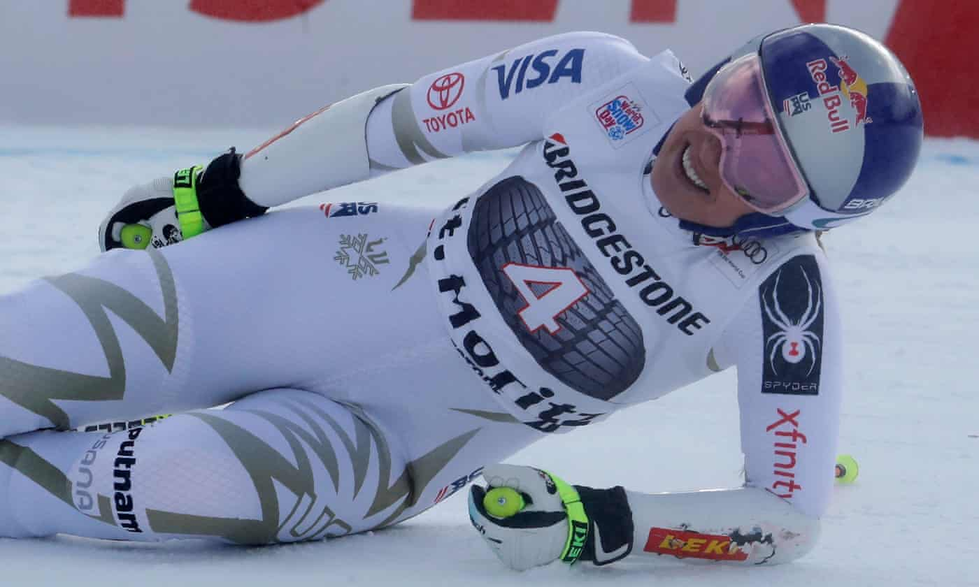 Lindsey Vonn suffers Winter Olympics scare with back injury
