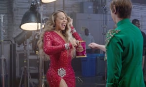 Mariah Carey stars in this year's Christmas advert for the crisp brand.