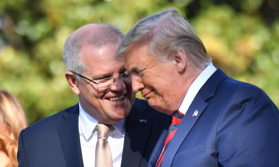 Morrison and Trump