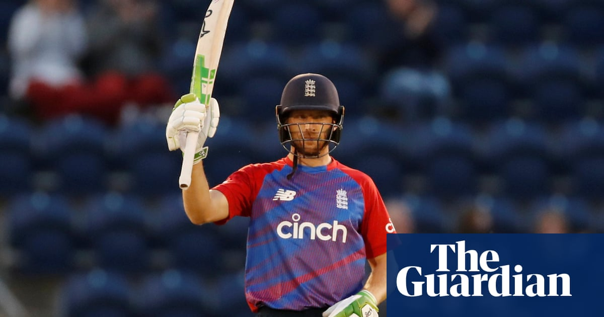 Jos Buttler to miss rest of England's white-ball summer with calf injury