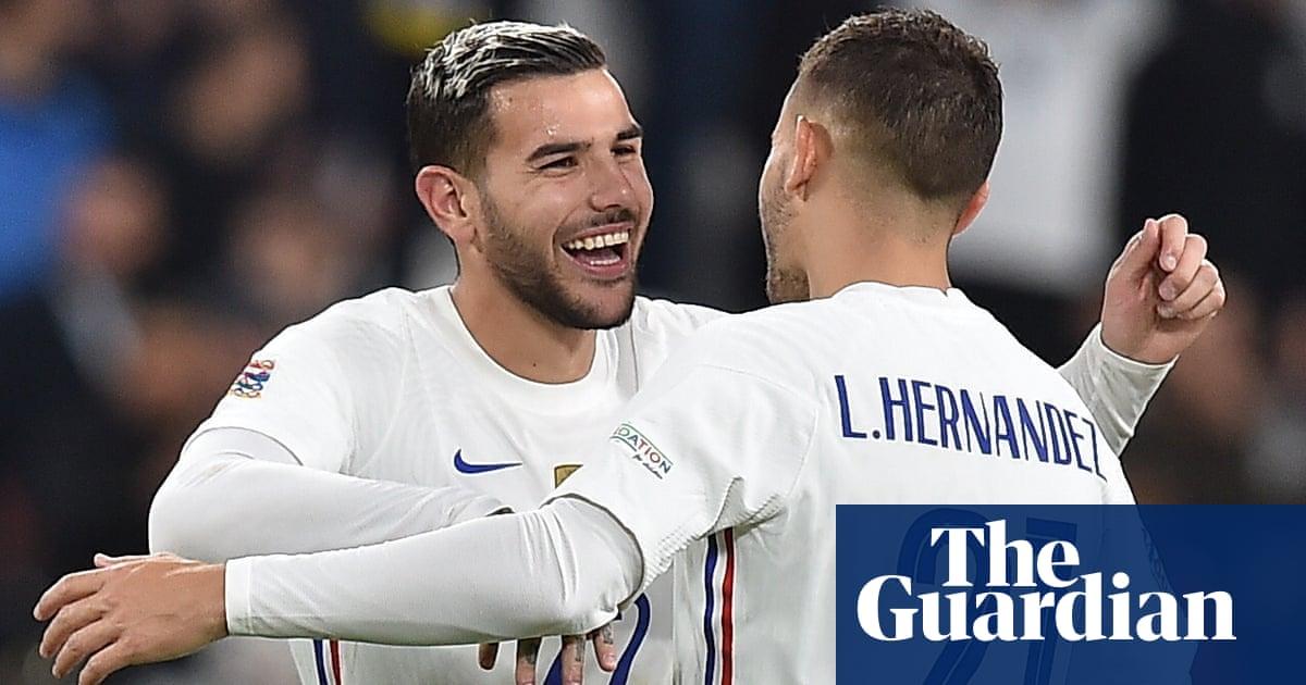 Theo Hernandez caps France's fightback to stun Belgium in semi-final thriller