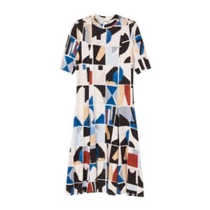 "Printed dress, £30, <a href=""http://www.monki.com/Dresses/Johno_dress/27338-12349031.1#c-47958"">monki.com</a>."