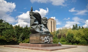 Berlin. Germany. Monument to former Communist party leader Ernst Thalmann (1886-1944), in Prenzlauer Berg.