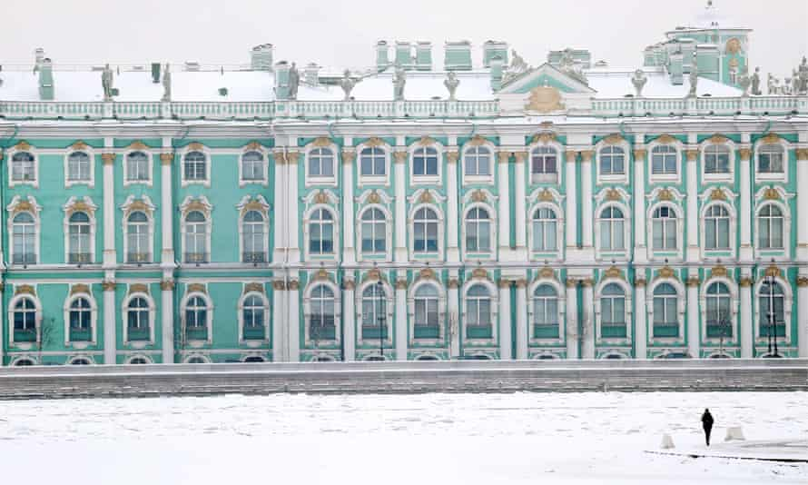 A view of the State Hermitage Museum