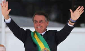 Jair Bolsonaro takes office as Brazil's President