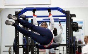 Nicola Adams warms up at the TeamGB training camp in Belo Horizonte, Brazil ahead of the 2016 Olympic games in Rio de Janeiro