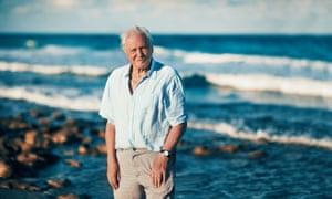 Sir David Attenborough in Blue Planet II