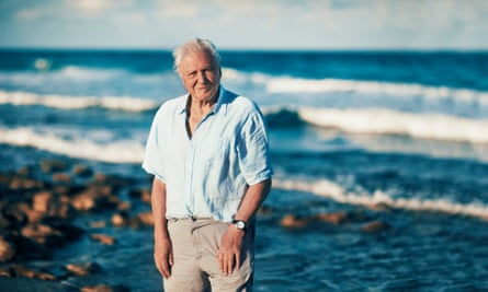 Blue Planet II, presented by Sir David Attenborough, raised awareness of plastic pollution in the oceans.