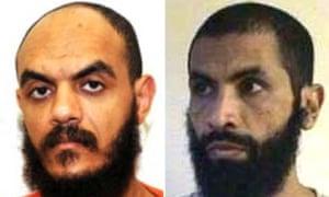 Abdul Shalabi (L) and Ahmed Ould Abdel Aziz (R)