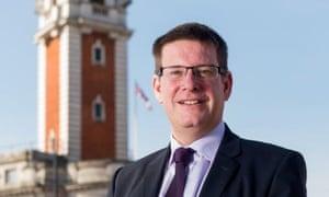 Chief executive of Lambeth council, Sean Harriss