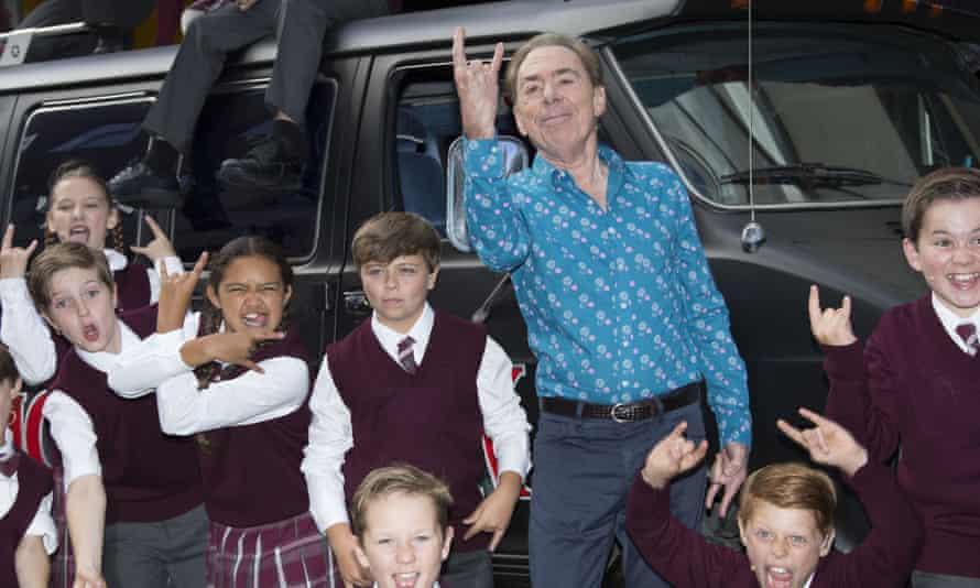 Lloyd Webber promoting School of Rock