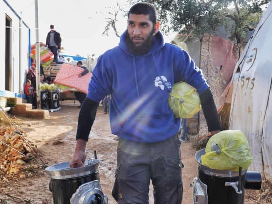 Tauqir Sharif in Syria