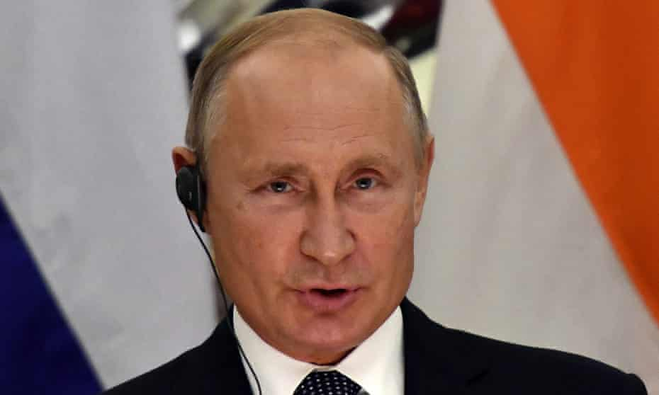 Vladimir Putin views espionage as one of the most important professions