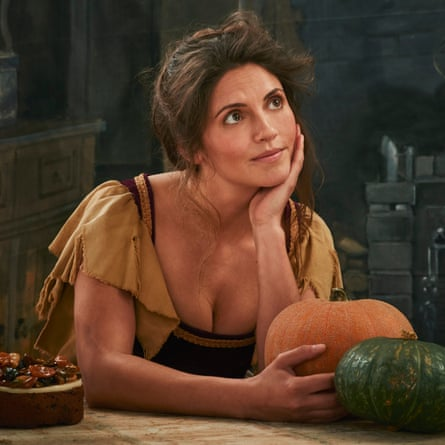 Olia Hercules as Cinderella