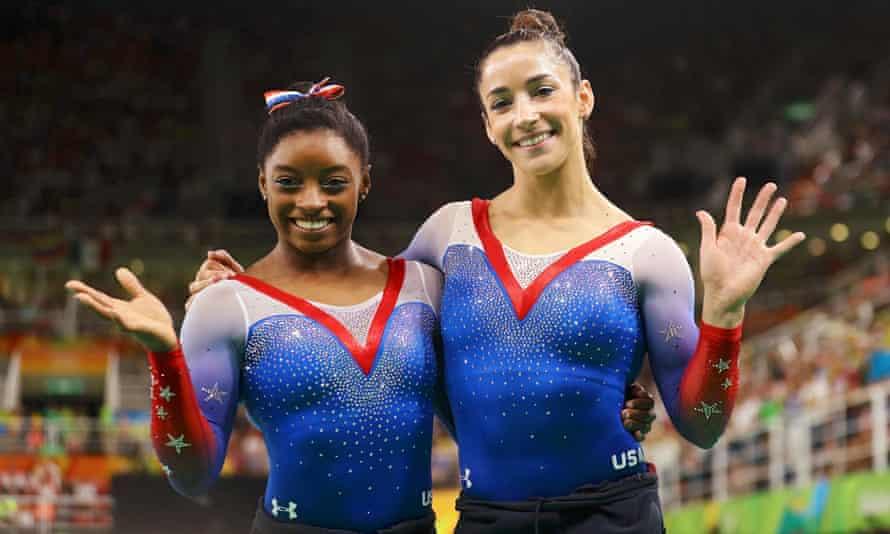 Aly Raisman Simone Biles 2016 Rio Olympics