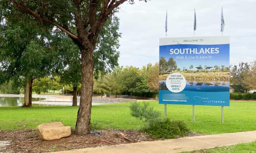 The Southlakes estate in Dubbo, NSW