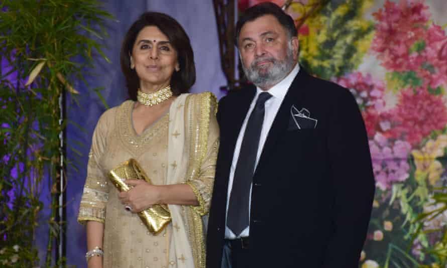 Neetu and Rishi Kapoor in 2018.