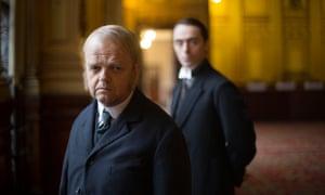 Toby Jones as Verloc and (right) David Dawson as Vladimir