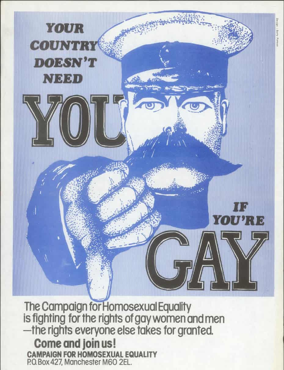 Campaign for Homosexual Equality poster.