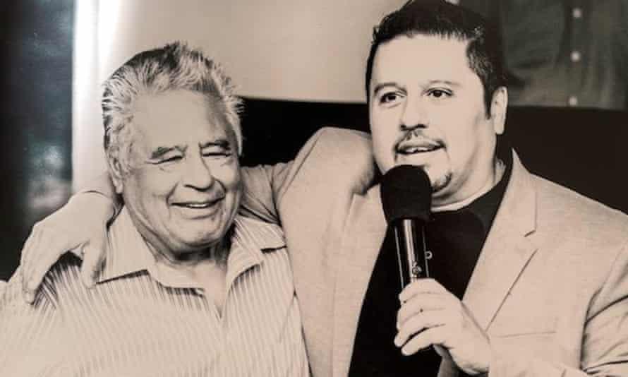 Manuel Lopez Marquez (left).