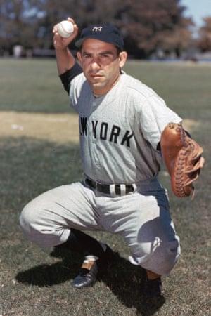 Yogi Berra made his MLB debut on 22 September 1946.