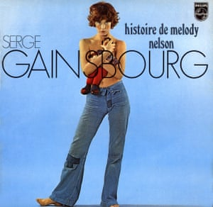 Munkey and Birkin on the cover of Histoire de Melody Nelson by Serge Gainsbourg.
