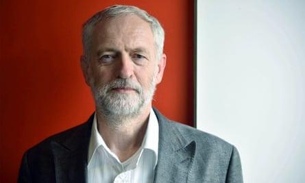Labour leadership contender Jeremy Corbyn.