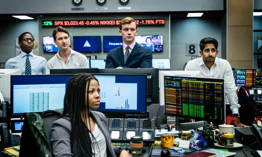 Working 5 to 9 ... in the banking industry, as shown in the BBC series Industry, employees work absurdly long hours.