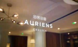 The Auriens logo