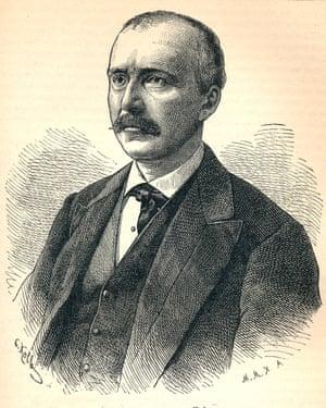 'Heinrich Schliemann', (1822-1890), German archaeologist, 1893.