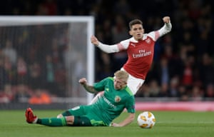 Kulach slides in on Torreira.
