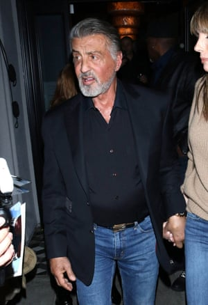 Sylvester Stallone out and about in LA.