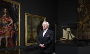 David Starkey at the Greenwich Maritime Museum. He's another victim of a ban on freedom of speech.
