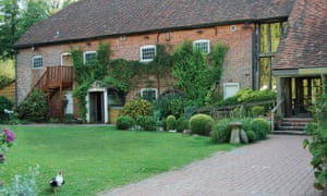 Intrigue on the lawn … the Watermill theatre.