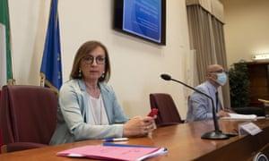 Sandra Zampa, Italy's health ministry undersecretary